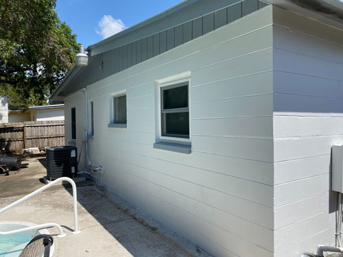 painting contractor Largo before and after photo crack-A