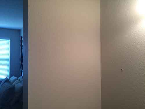painting contractor Largo before and after photo drywallafterA1